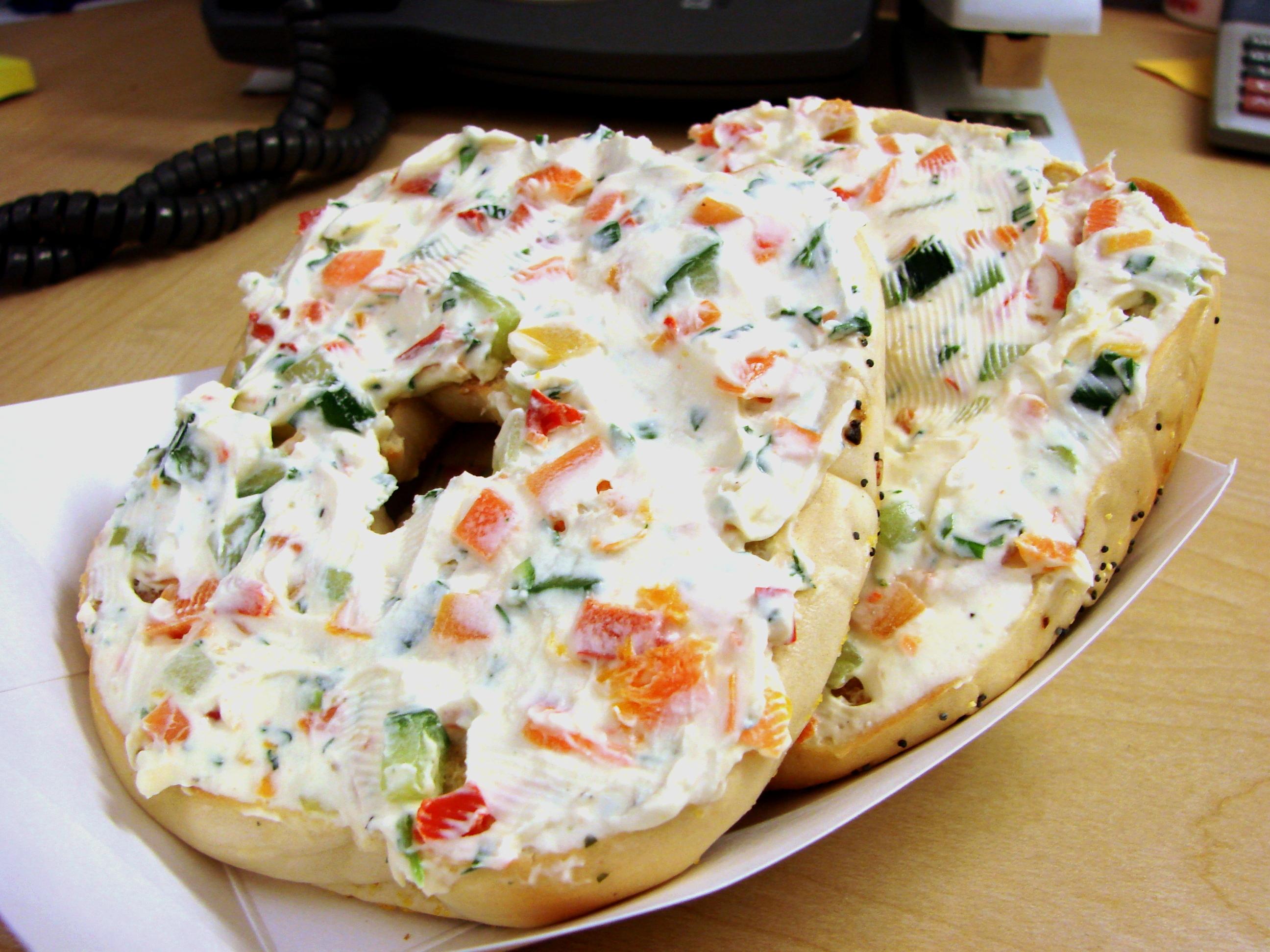 vegetable cream cheese